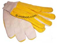 Garage Door Opener Heavy Duty Work Gloves