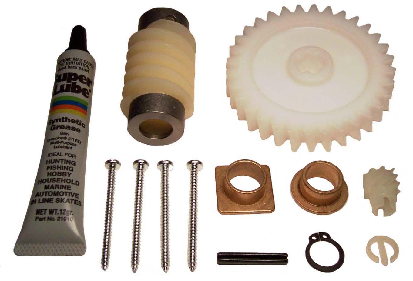 Genie Garage Door Opener Repair Parts For Overhead And Schematics Belt Drive Gear Kit 36044r