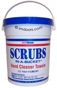 Scrubs In A Bucket, No More Dirty Hands.