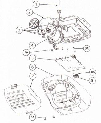 Genie Opener TriloG™ 1200, 3064, Power Max 1200, 3062, OverHead Garage Door  Odyssey™Genie Garage Door Openers, Genie Garage Intellicode, Genie Garage Remote